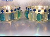 como hacer portavelas cristales para navidad