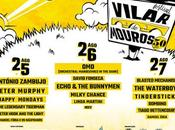 Vilar Mouros 2016: Echo Bunnymen, Waterboys, Peter Hook, Happy Mondays, Murphy, OMD...
