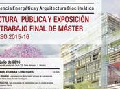 Presentación Trabajos Máster Arquitectura Energía Entrevista Belinda Tato blog Stepienybarno