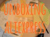 Unboxing aliexpress