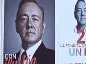 """acción guerrilla """"House Cards"""" llena Madrid carteles Underwood como presidente"""