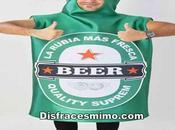 disfraz cerveza verde para comprar online