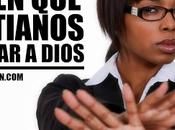 Casos cristianos solemos negar DIOS