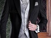 Elegante chaqué clásico corte entallado (Slim fit)