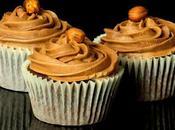 Receta cupcakes ferrero rocher nutella.