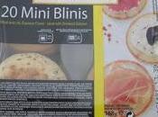 Mini pizzas blinis degustabox julio