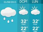 Pronóstico Clima Semanal (1-5/08/2015)