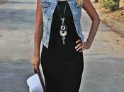 Midi LIttle Black Dress -CASUAL-