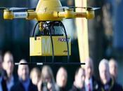 Drones Mirando Hacia Futuro Negocios