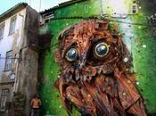 Artur bordalo: chatarra reciclada maxima expresión
