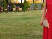 Vestido rojo largo Roberto Navazo