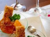 Escalopines salsa piña arroz basmati (con thermomix tradicional)