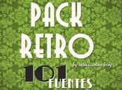 Pack Fuentes Estilo Retro Gratis