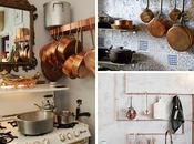 Cobre, Clásico Decoración Cocina
