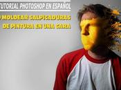 Tutorial Photoshop: Moldear Salpicaduras sobre Cara