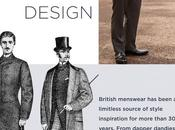 Celebrating years British Menswear Desing