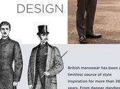 Celebrating years British Menswear Desing