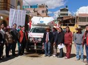 Moderna ambulancia servicio Comunidad Uchucarcco