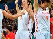 Plata Baloncesto Femenino.