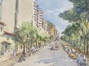 Dibujos Albacete Paseo Simón Abril