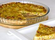 Quiche puerros bacon