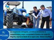 Asociación ganaderos amiralla reciben maquinaria agrícola…