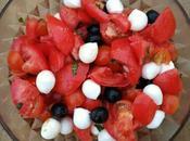 Ensalada mediterránea tomate