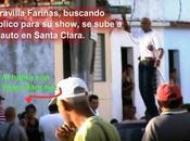 Noticiando corto: Guillermo Fariñas intentó ultrajar busto José Martí Santa Clara fotos)