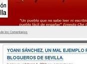 Yoani Sánchez, ejemplo para blogueros Sevilla