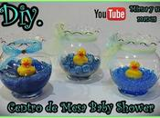 Diy. Centro Mesa Baby Shower Mirna manus