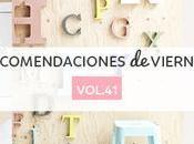 Recomendaciones viernes Vol.41