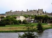 Carcasona, Francia castillo cuento