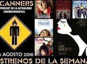 """Estrenos Semana Agosto 2016 Especial mejor peor 2016"""" Podcast Scanners"""