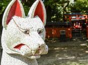 Kitsune zorro folclore japonés