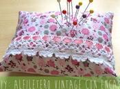 DIY: alfiletero vintage encaje.