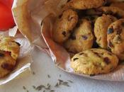 Cookies pimientos, queso bola cominos