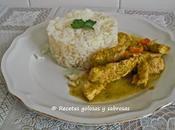 Pechuga pavo arroz