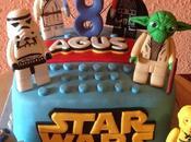 Tarta star wars personajes lego