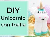 Unicornio hecho toalla
