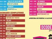 Horarios DCode Festival 2016