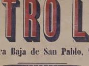 Inauguración Teatro Lara. Madrid, septiembre 1880