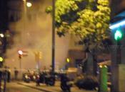 Incendio plaça molina barcelona abans, avui sempre...4-09-2016...!!!