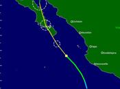 "México: Baja California mira huracán ""Newton"""