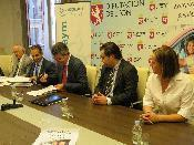 Diputación León colabora ASPAYM proyecto concienciación sobre seguridad vial para personas mayores provincia