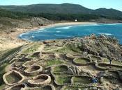 Castro Baroña, España Azotado océano Atlántico