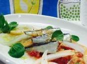 Ensalada sardinas jugo