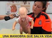 Atragantamiento niños: maniobra Heimlich puede salvarle vida