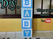 Diy. Cubo para Baby Shower Mirna manus