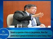 Nelson chui expone plan gestión recurso hídrico cuenca chancay huaral…