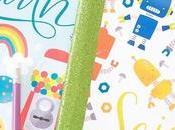 Plantillas para decorar cuadernos escolares